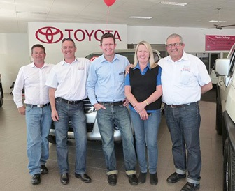 Coffs Harbour Toyota, Jeans for Genes Day.